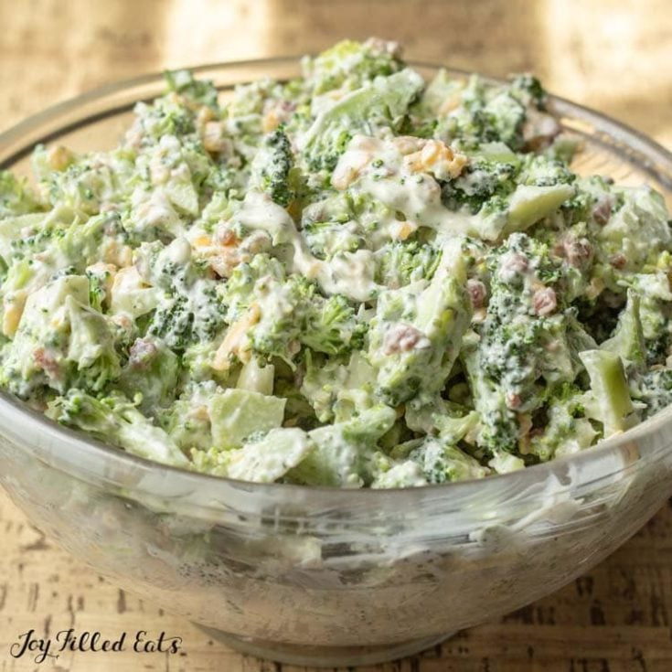 Easy Broccoli Salad with Bacon Recipe