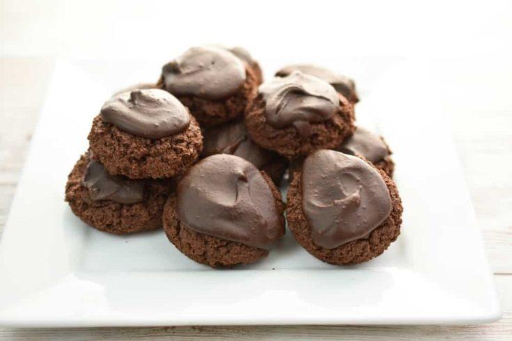 Keto Cream Cheese Chocolate Cookies,