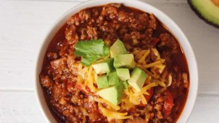 Keto Crockpot Chili – Low Carb Beef Chili