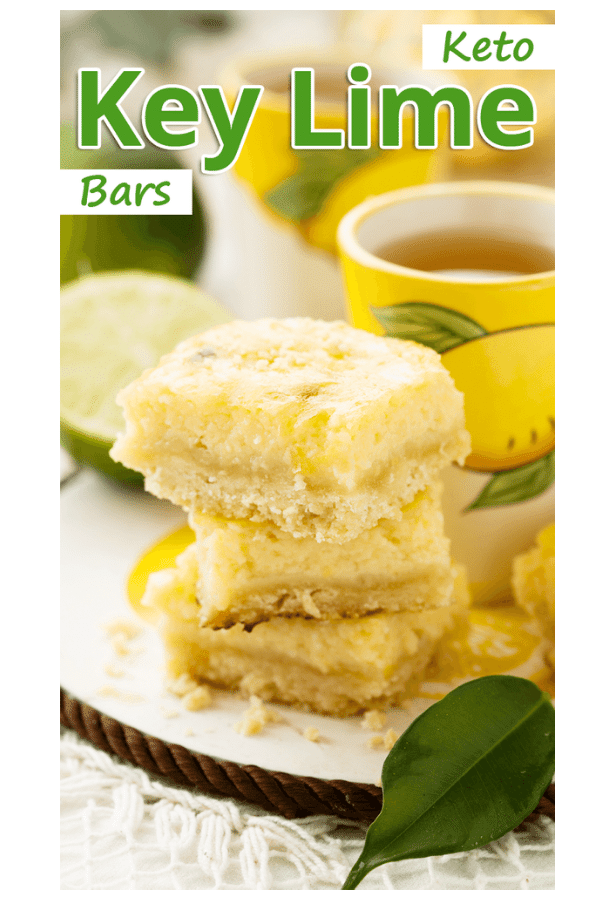 Keto Key Lime Bars