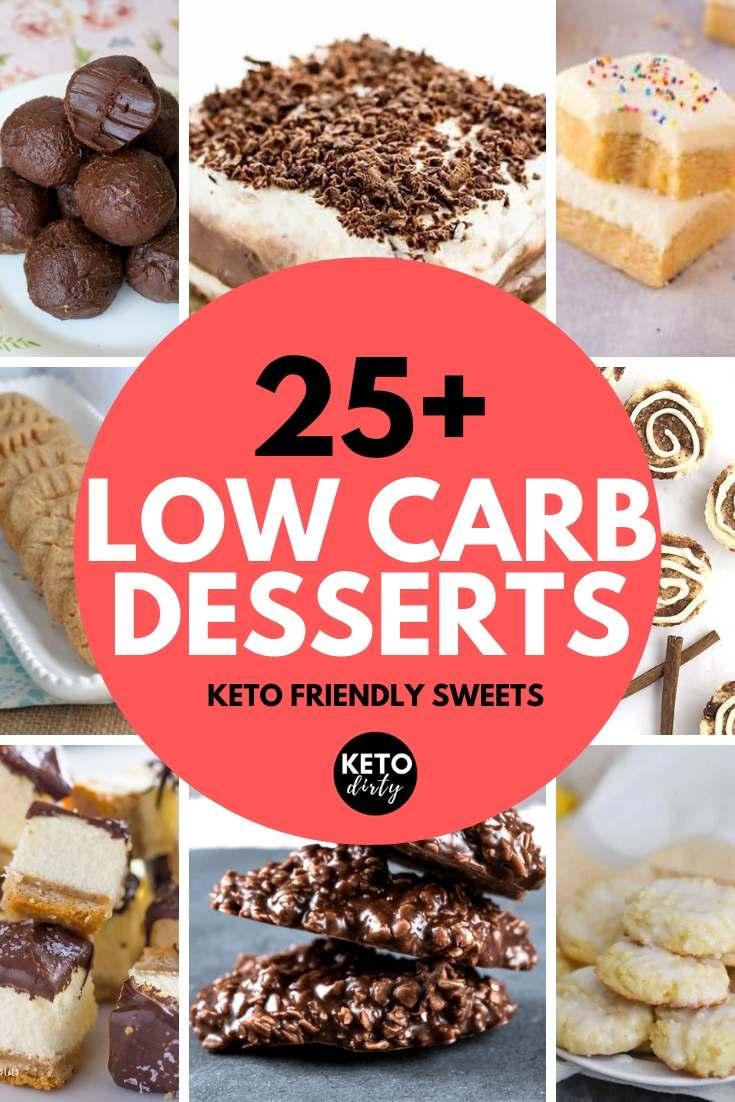 LOW CARB DESSERTS RECIPES KETO