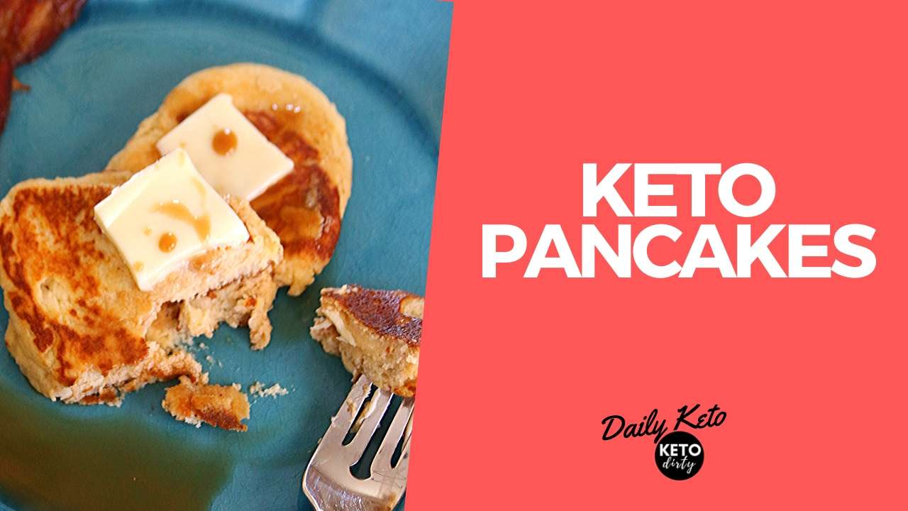 LOW CARB PANCAKE KETO RECIPE