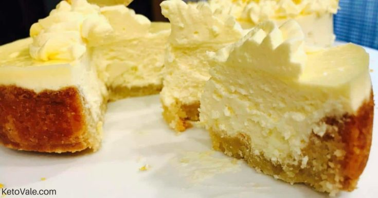 Keto Lemon Cheesecakes