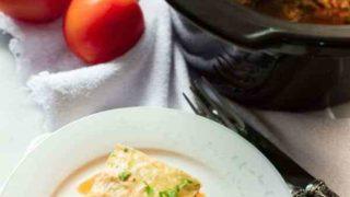 Slow Cooker Zucchini Lasagna