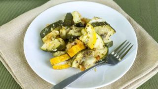 Crock Pot Zucchini and Yellow Squash Casserole
