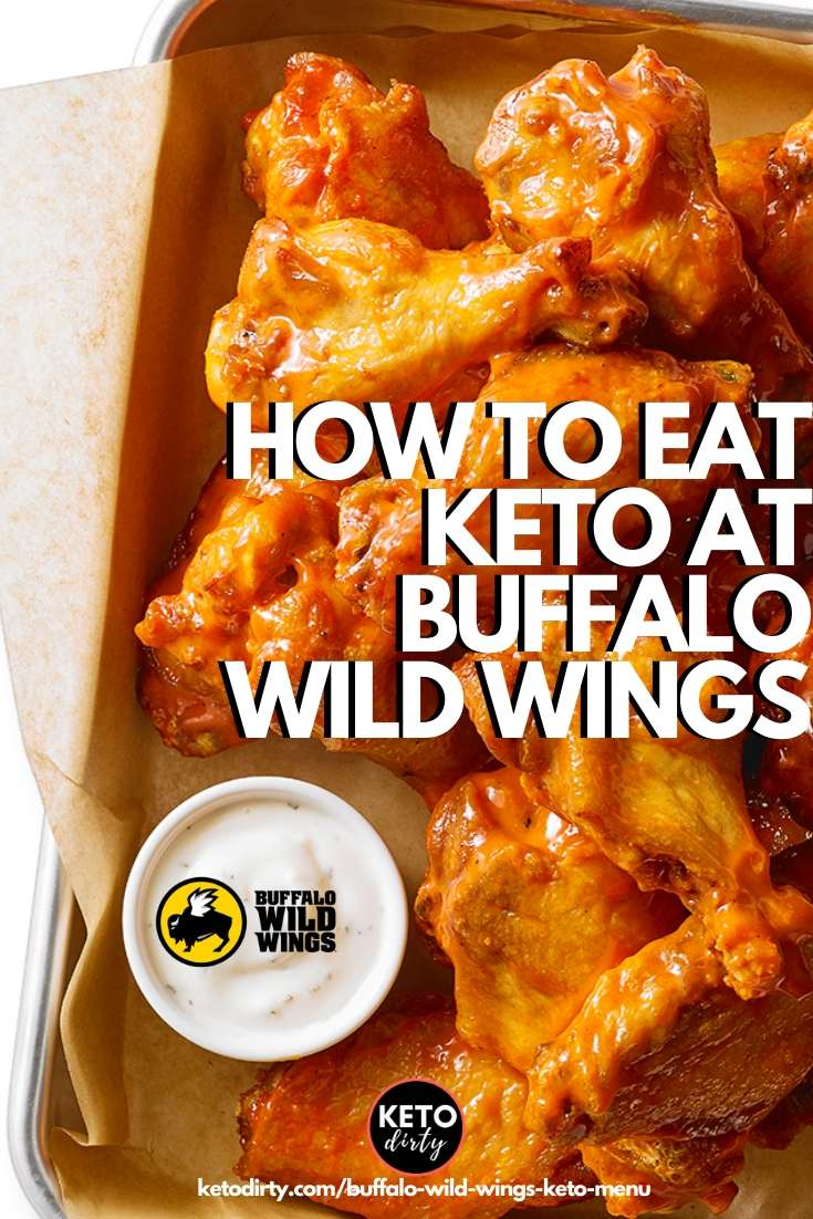 buffalo wild wings keto menu