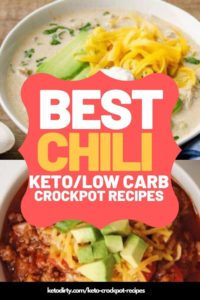 keto chili crockpot