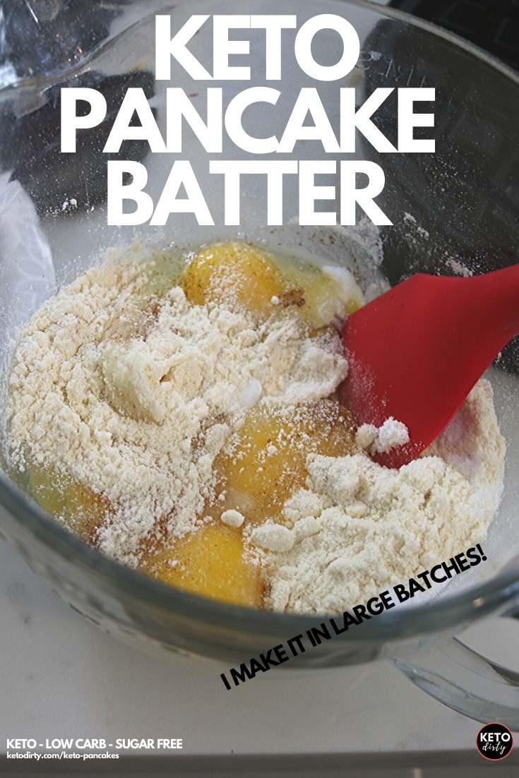 low carb pancake batter