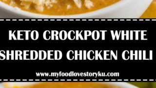 Low Carb Crockpot Chicken White Chili Recipe