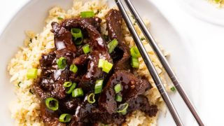 Keto Slow Cooker Mongolian Beef Recipe