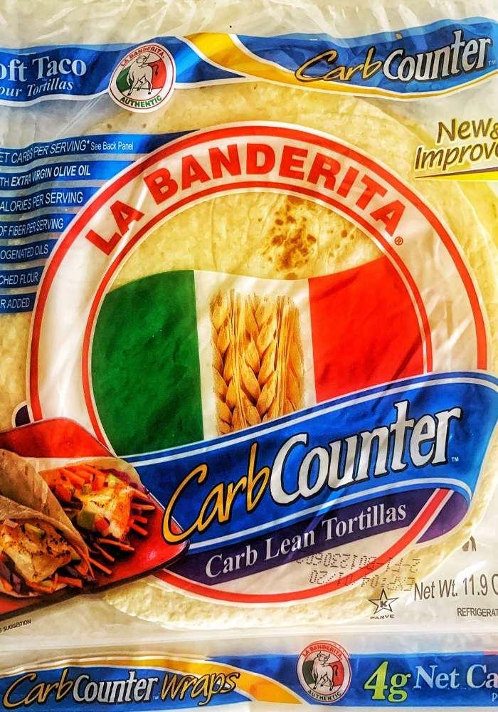 la banderita low carb tortillas