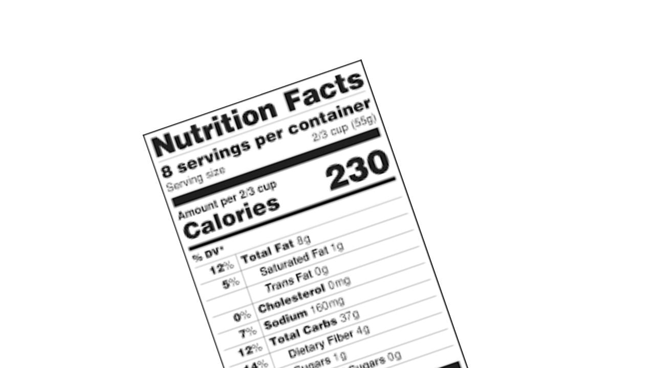 How to Calculate Net Carbs 1
