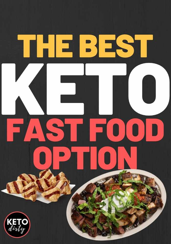 fast food keto options