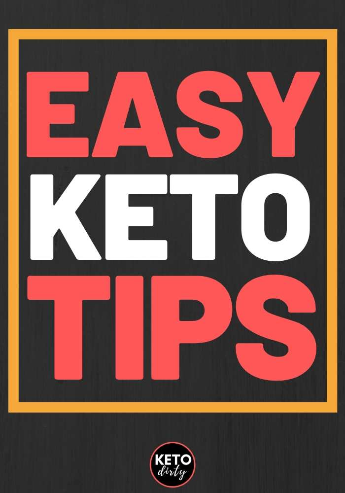 keto tips easy low carb dieting