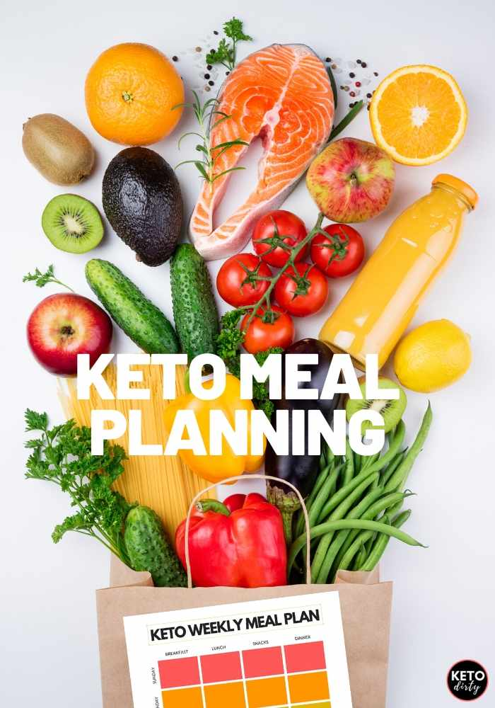 meal planning keto meals