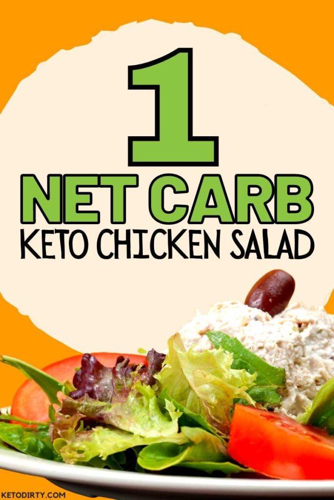 1 net carb chicken salad recipe low carb keto