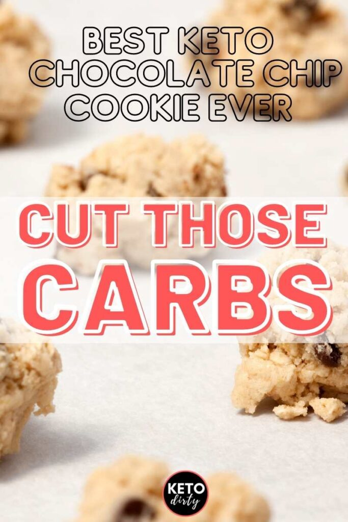brown butter chocolate chip low carb cookies