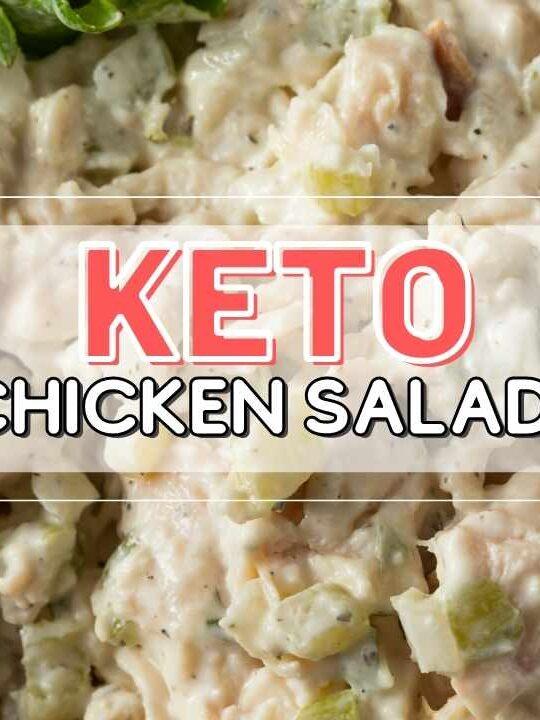 low carb chicken salad recipe