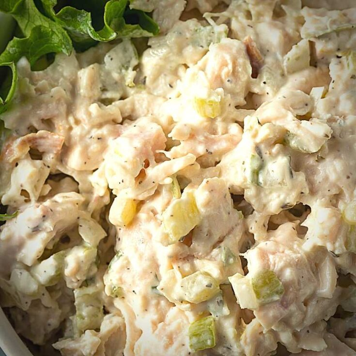 Easy Keto Chicken Salad Recipe - Low Carb, Just 1 Net Carb! 1