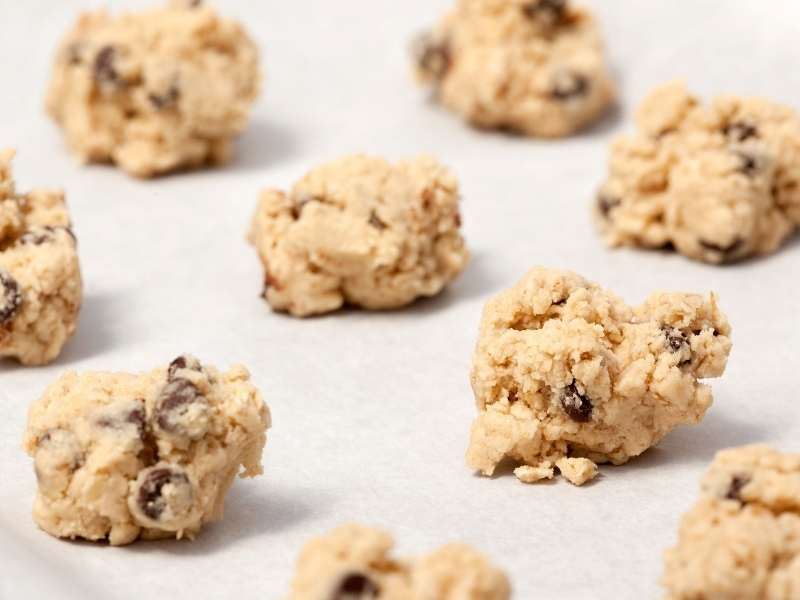 low carb chocolate chip cookies dough recipe