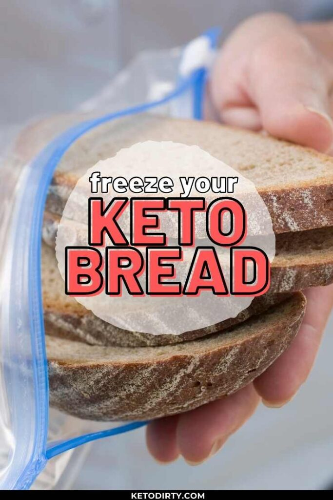 freeze keto bread