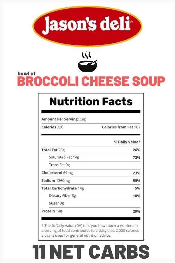 carbs-in-jasons-deli-broccoli-cheese-soup
