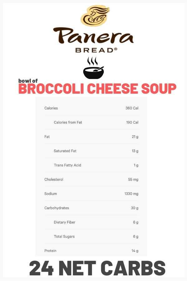 carbs-in-panera-bread-broccoli-cheddar-soup