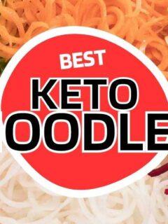 keto noodles low carb