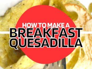 keto breakfast quesadilla recipe low carb