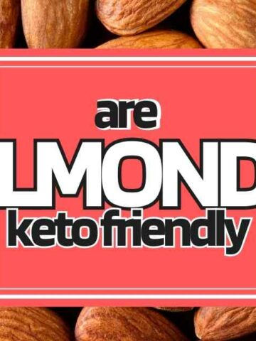 are almonds keto friendly low carb